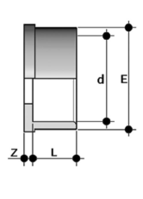 Q/BIV, Rameno lemové (vložka šróbenia), spájané lepením, nástavec