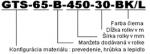 GTS-65 - Obvodová manžeta s 25% zmrštiteľnosťou - v rolkách
