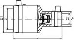 MR STOPP - Elektrotvarovková redukcia s integrovanou spätnou klapkou, System Mertik Maxitrol