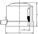 K - Elektrotvarovkové dienko pre navŕtavaciu armatúru
