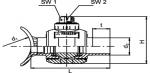 AKHP TL - Zostava odbočky a guľového kohúta, Top-loading