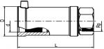 MUM - Prechodka PE/bronz s vnútorným závitom