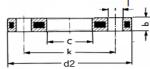 FL - Polypropylénová príruba s oceľovým jadrom