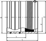 AEM - Zásuvná tvarovka ( bez prídavného tesnenia )