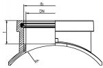 ASA  TL/KG - Prechodový sedlový kus Top - Loading
